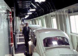 De drie Prinsessenboten van de PSD hadden elk twee zijgangen voor personenauto's. Alleen het middelste en breedste gedeelte van het autodek was geschikt voor vrachtwagens en andere hoge voertuigen.