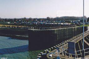 15 maart 2003: Drukte in Breskens