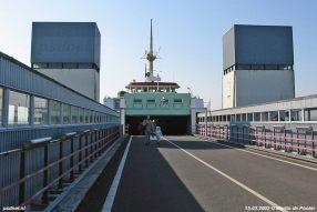 15 maart 2003: Op de brug