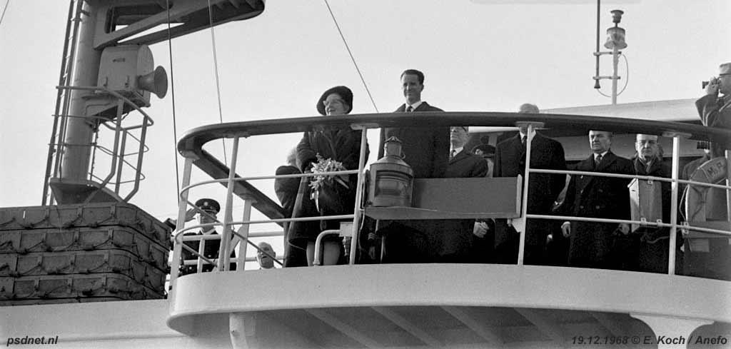 Veerboot Prinses Margriet als koninklijk jacht