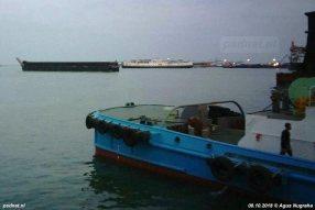 De Margriet ligt sinds 22 september in de sloopbaai van Bojonegara, Indonesië.