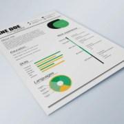 Fresh Resume Template - AI
