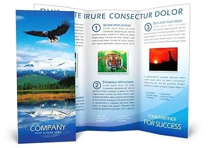 Nature Brochure Template