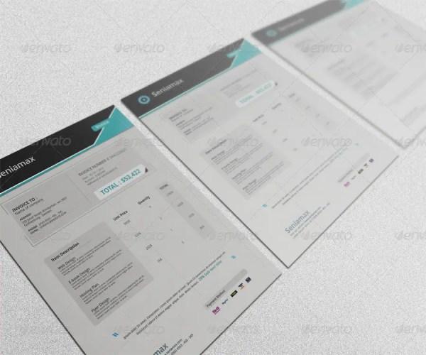 Professional Invoice Template Vol.5