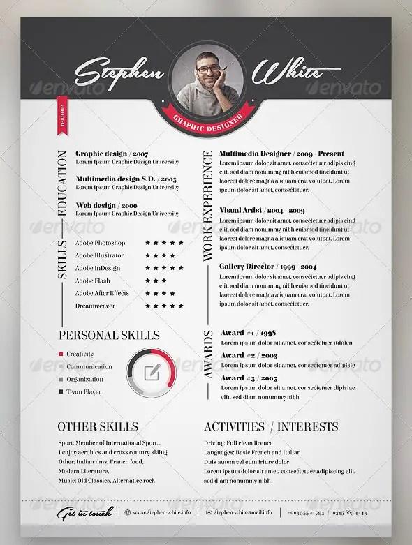 3-Piece Resume CV Set