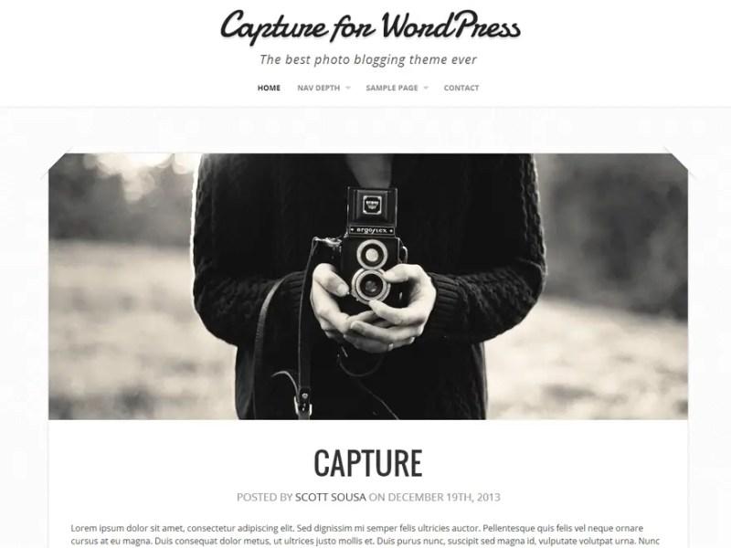 Capture WordPress Photography Theme