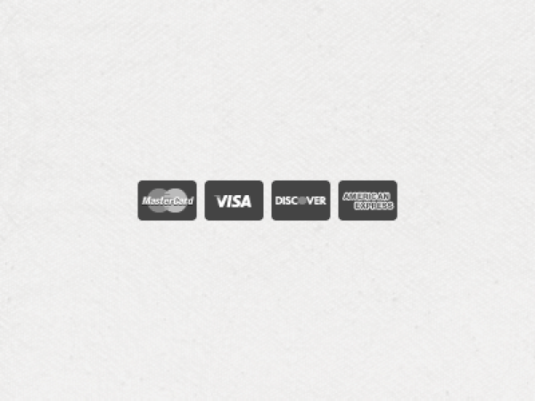 Flat Credit Card Icons Vector