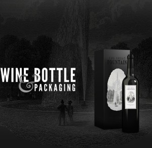 Free Wine Bottles Mockup