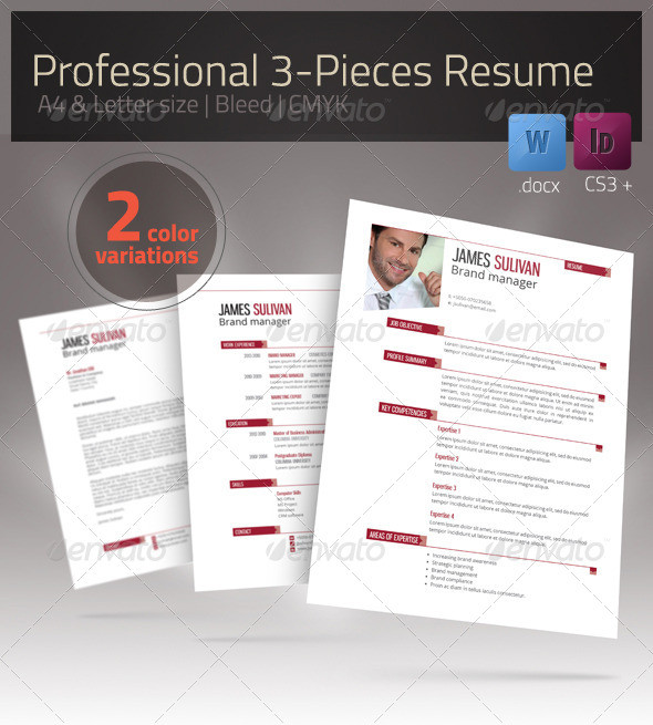 Resume Xtend CV Set