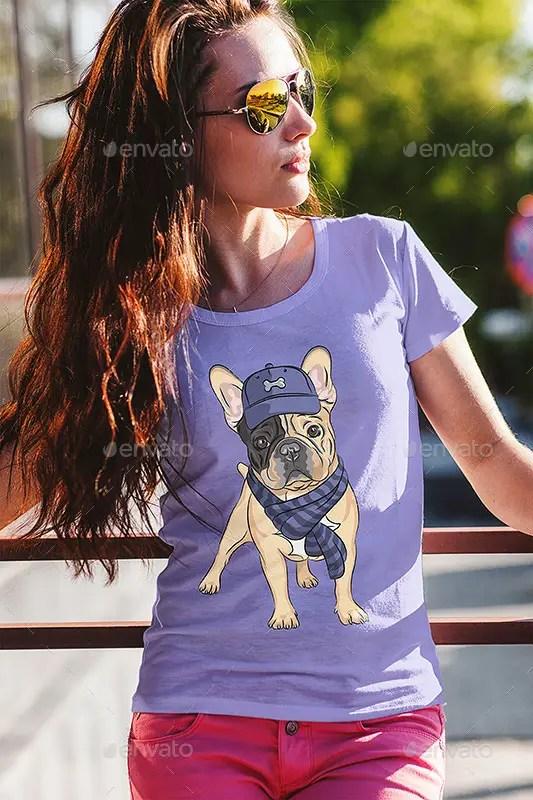 T-Shirt Fashion Mock-Up