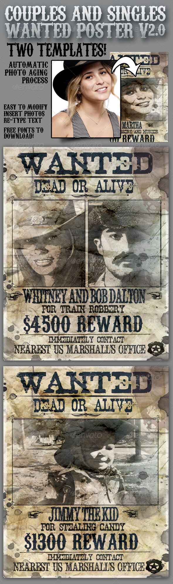 Wanted Poster 8.5x11 For Singles And Couples V2.0. Download