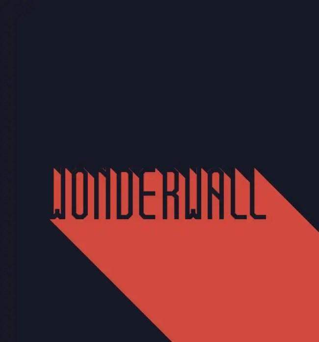 Wonderwall Free Font Download