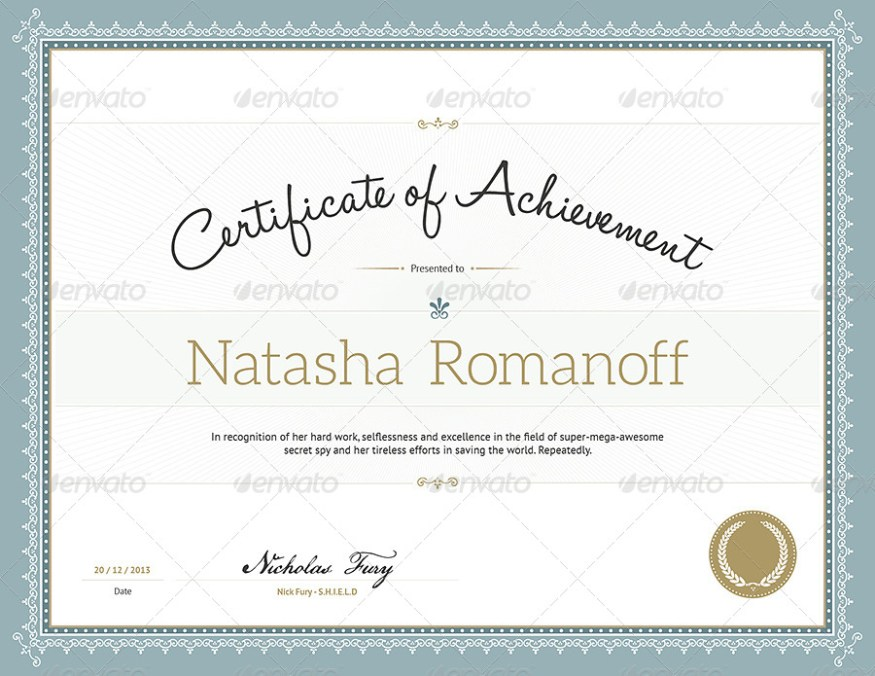 Certify - Award Certificate Template