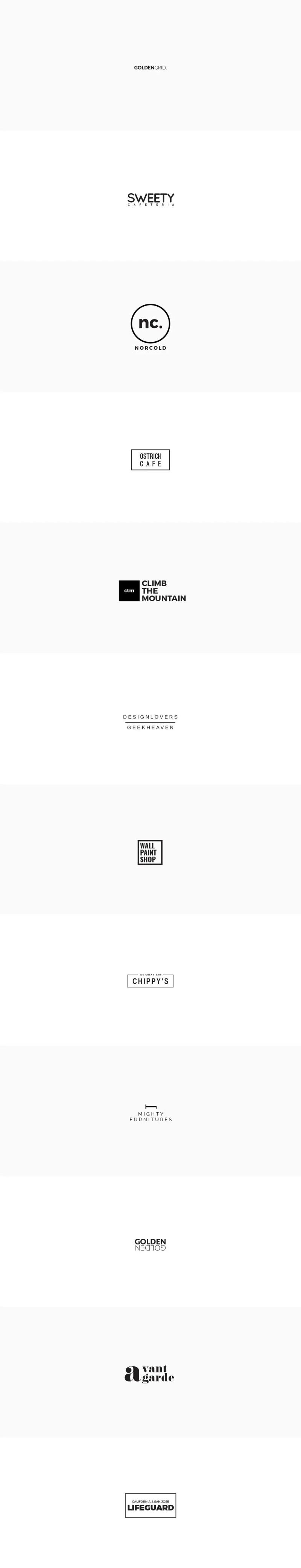 Minimal Logo Templates PSD