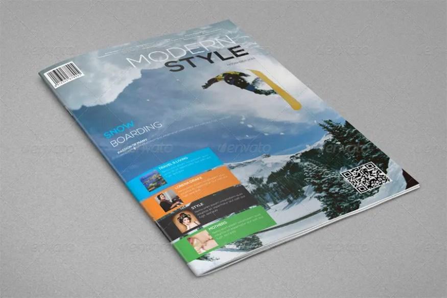 Modern Style Magazine Temlate
