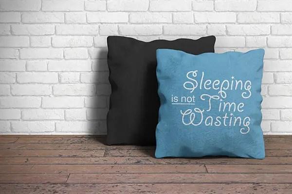 Pillow mockup psd