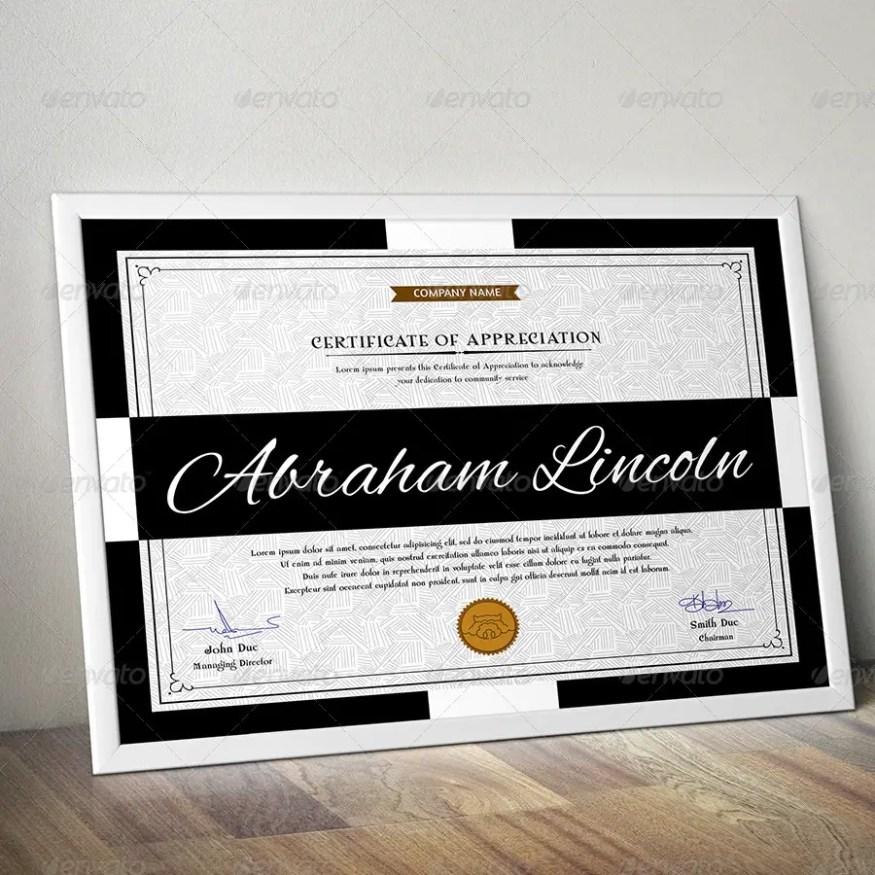 Simple Multipurpose Certificate Template