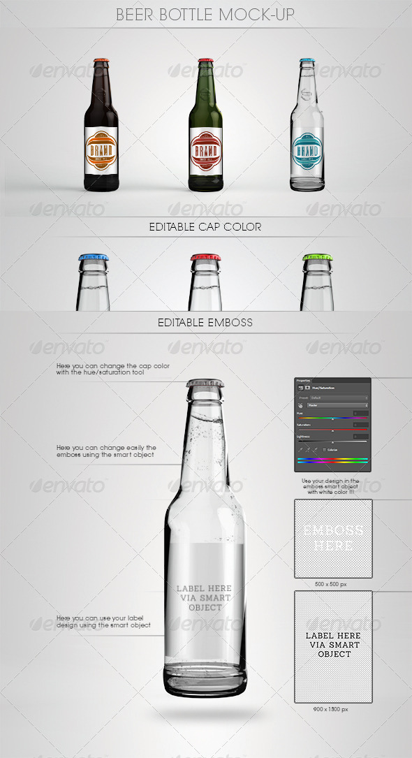 10 beer bottle mockup free psd download psdtemplatesblog. Black Bedroom Furniture Sets. Home Design Ideas