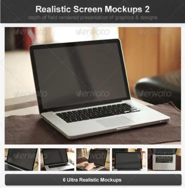Realistic Screen Mockups