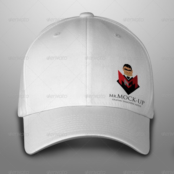 Baseball Hat & Polo T-Shirt Mockup