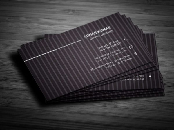 41 high quality business card templates psd free download creative business card vol01 cheaphphosting Choice Image