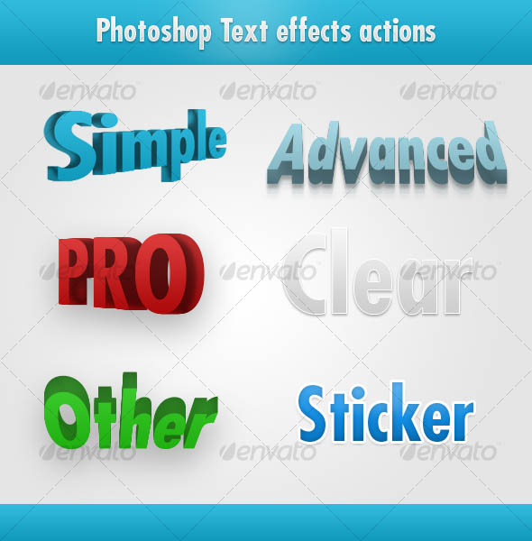 Photoshop awesome text effects