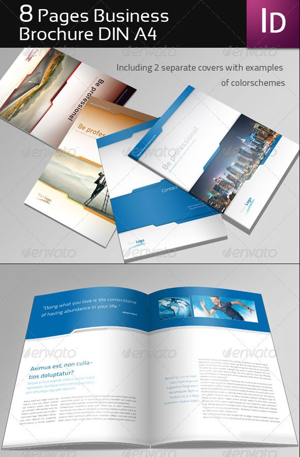 8 Page Business Brochure