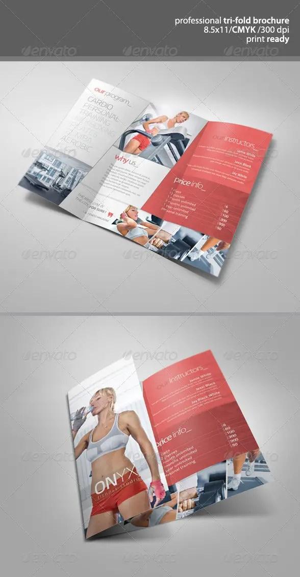 Fitness Tri-Fold Brochure