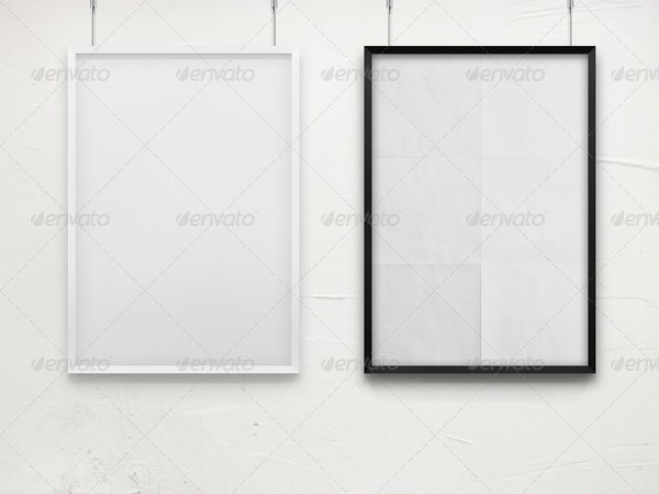 Frame For Your Work II - Poster Mockup