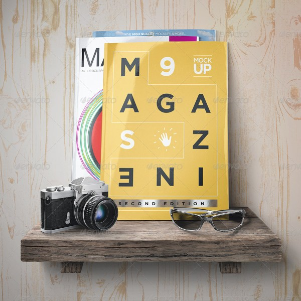 Magazine Mock-Up Set - 2