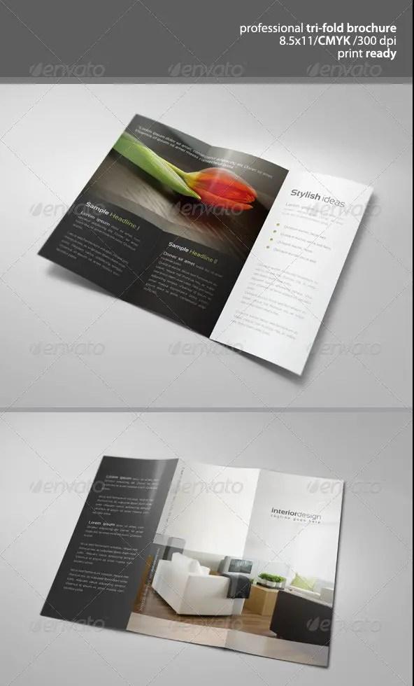 Modern Tri-Fold Brochure