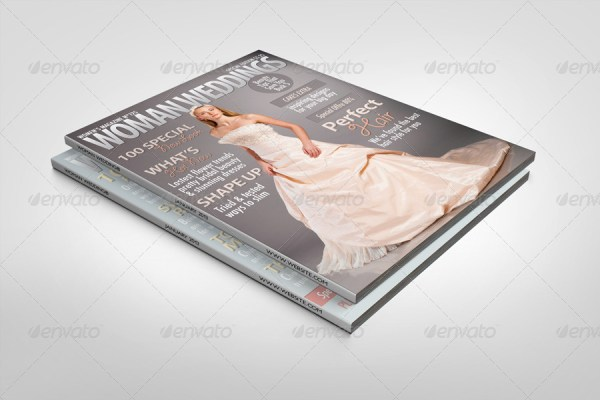 Photorealistic Magazine Mock-up