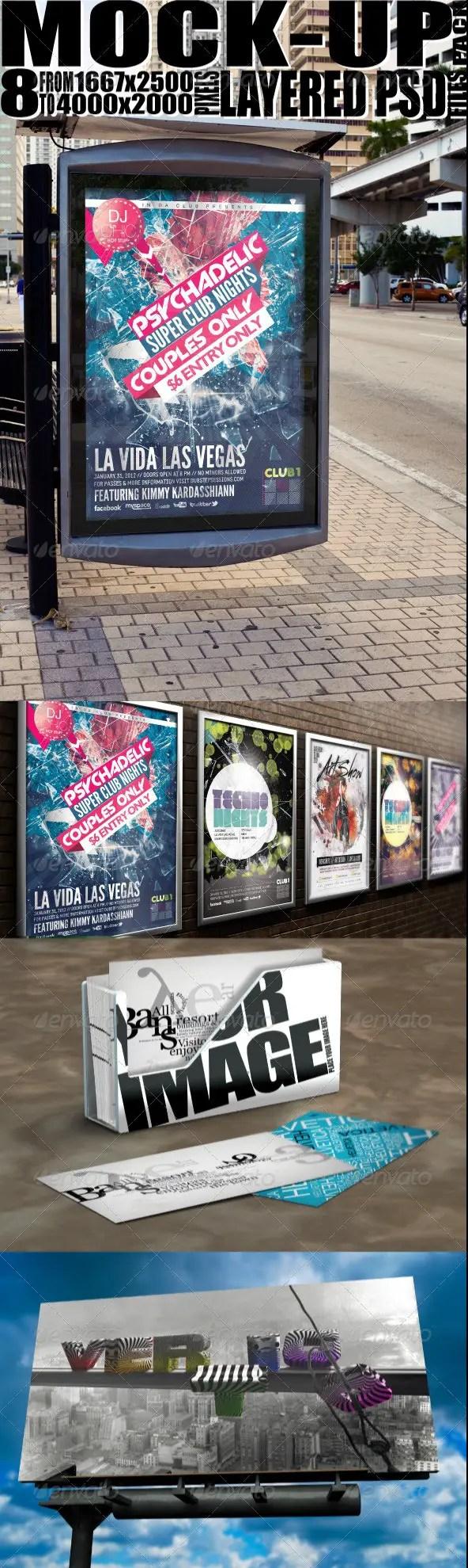 Poster Mock-ups Pack