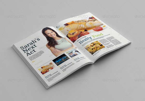 Print & Screen Magazine Mock-Ups