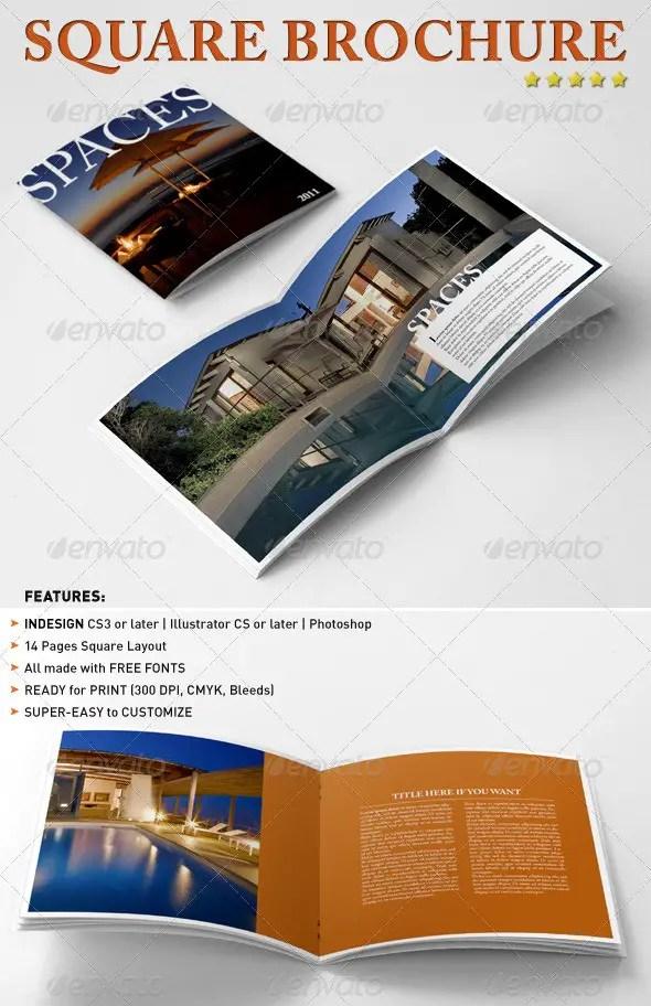 Square Brochure / Booklet