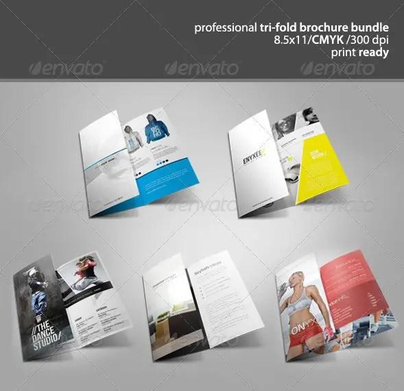 Tri-Fold Brochure Bundle