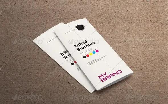 Tri-fold Brochure Mockup