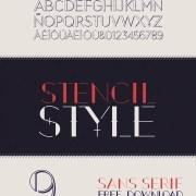 September - A Free Display Font Download