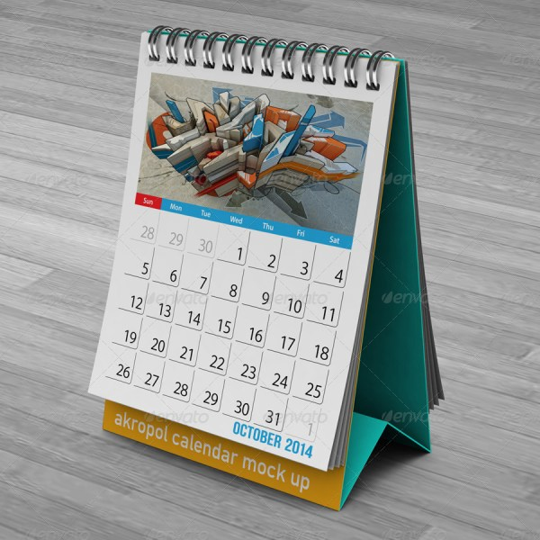 Calendar Mockup Pack