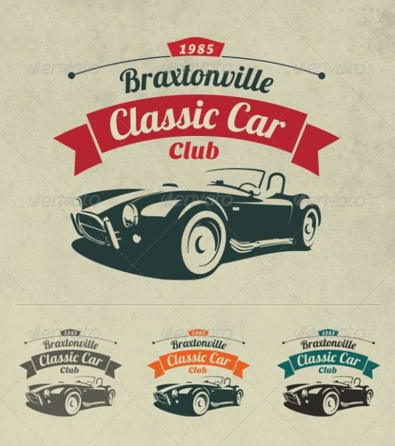 Classic Car Club Logo