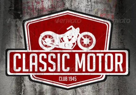 Classic Motor Logo Template