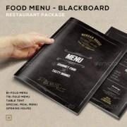 Food Menu - BlackBoard Restaurant Package