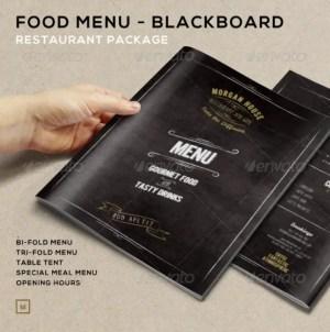 FoodMenu BlackBoardRestaurantPackage