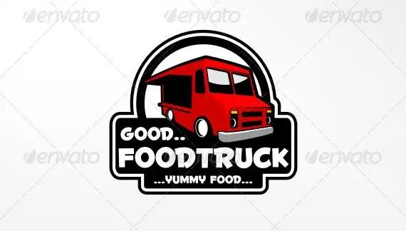 Food Truck Logo Templates