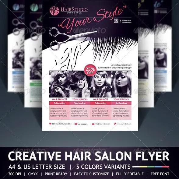 Salon flyer templates free forteforic salon flyer templates free maxwellsz