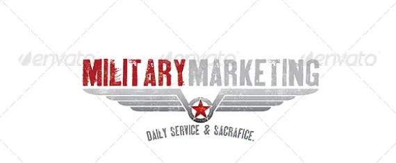 Military Crest 2 Logo