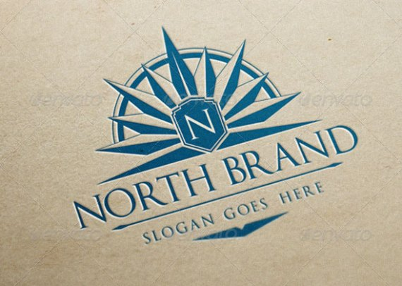 North Brand Logo Template