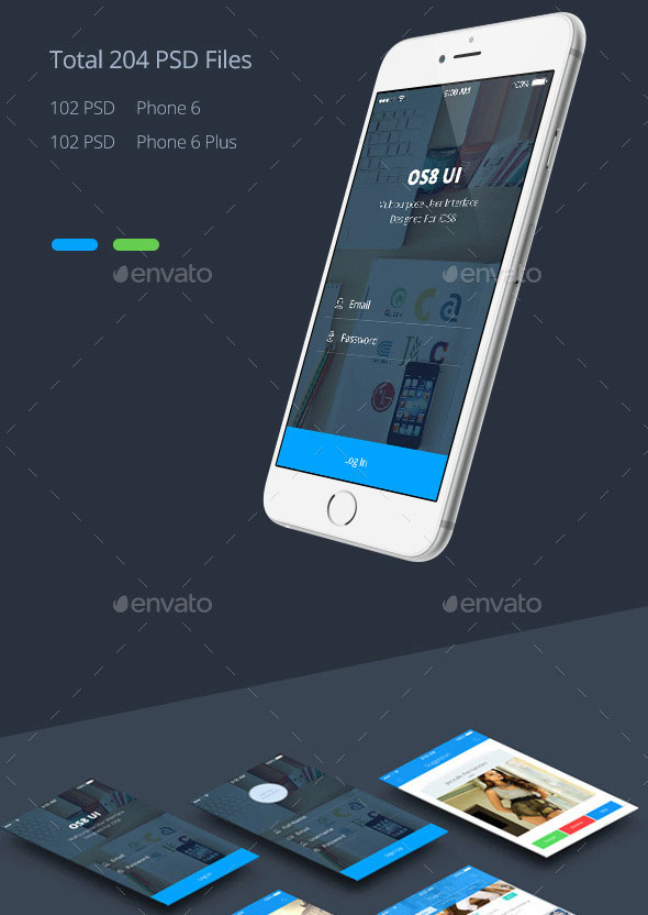 45+ Professional PSD Mobile App UI Design Templates - PSDTemplatesBlog