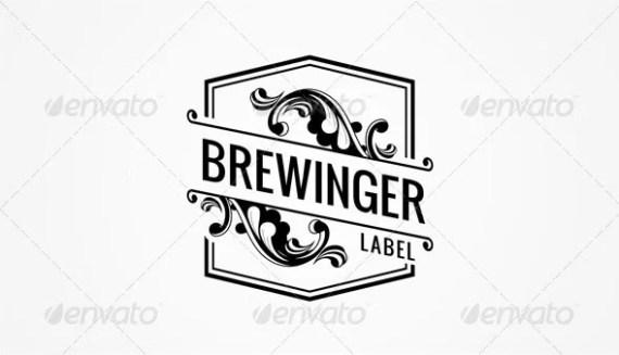 Vintage Brewing Label