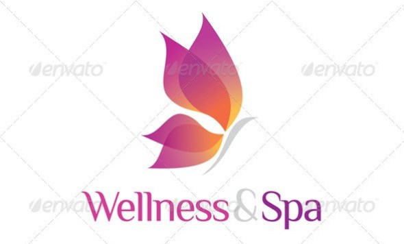 Wellness & Spa Logo